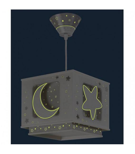 COLGANTE INFANTIL MOON LIGHT GRIS DALBER REF: 63232E