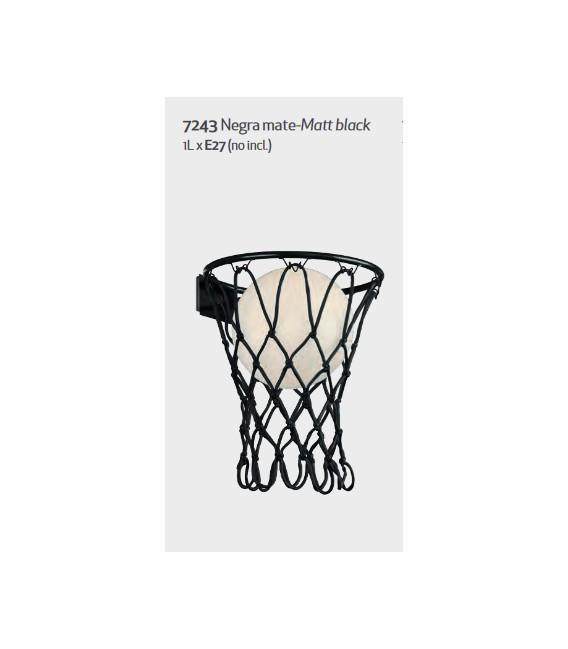 APLIQUE DE PARED BASKETBALL REF. 7243