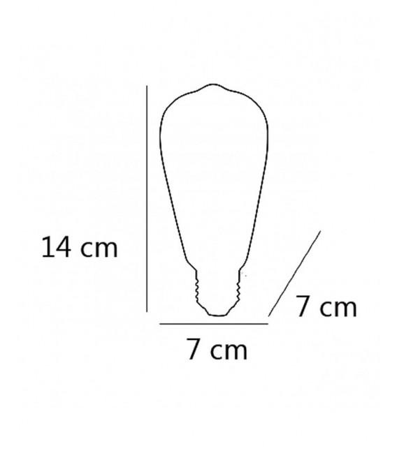 BOMBILLA LED FILAMENTOS REF. FS0039